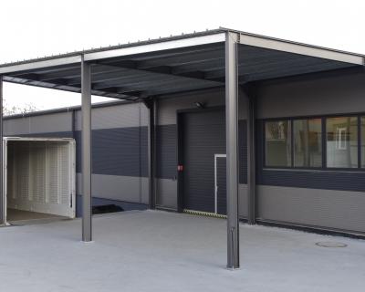 Ocelové garáže