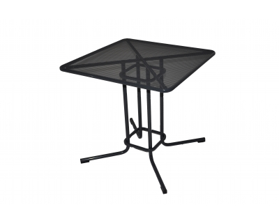 Kovový venkovní stolek - materiál tahokov